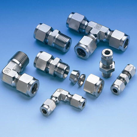 Hastelloy C276 Compression Fittings