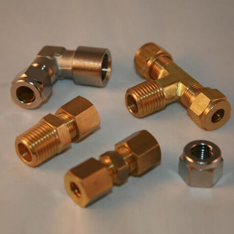 "Brass Compression BLANKING  NUT   1//8/""   Plumbing /& Gas Fittings"