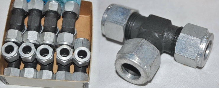 ASTM A105 Carbon Steel Compression Tube Fittings