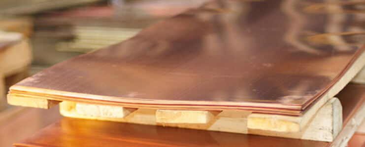 Copper Nickel 90/10 Sheets and Plates