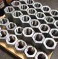 Nickel 201 Hex Nuts